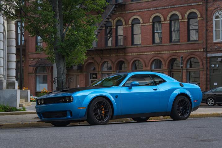2019 Dodge Challenger Redeye Blue Exterior Side Picture