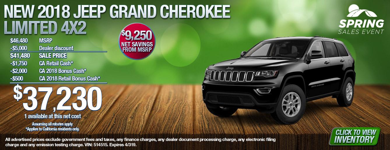 18 Grand Cherokee