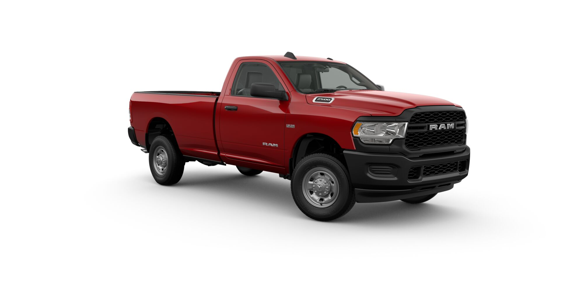 2019 Ram Tradesman Red Exterior Front View