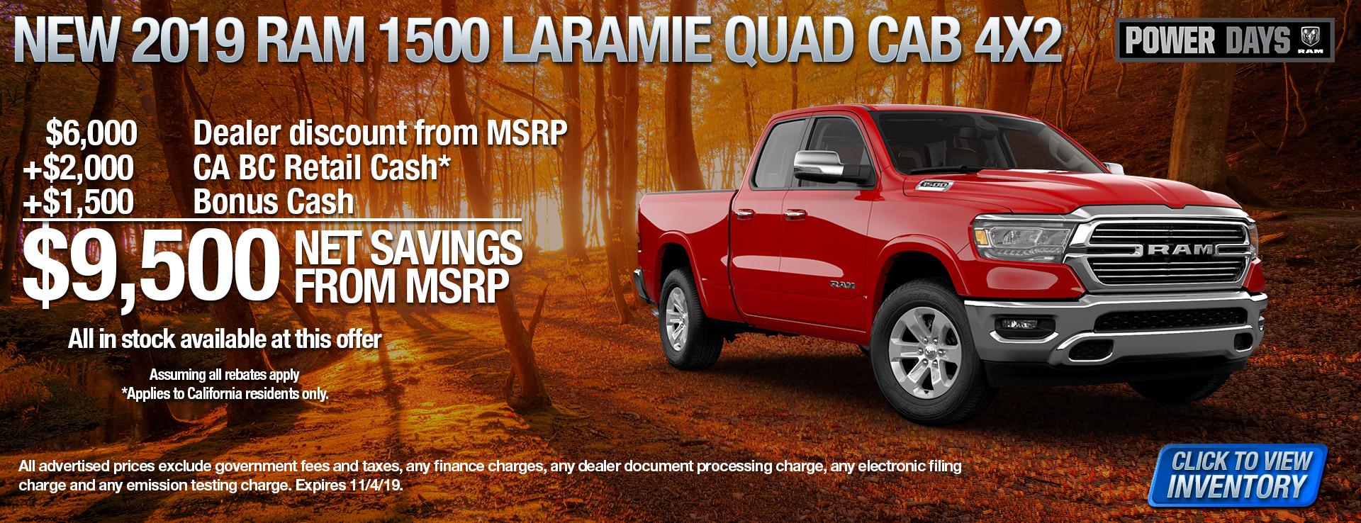 19 1500 Laramie Quad