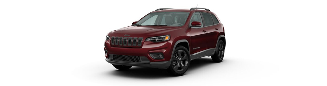 2020 Jeep Cherokee Front View Black Exterior Picture
