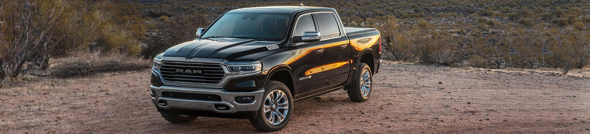 2020 Ram 1500 Front Angle Exterior Black Picture