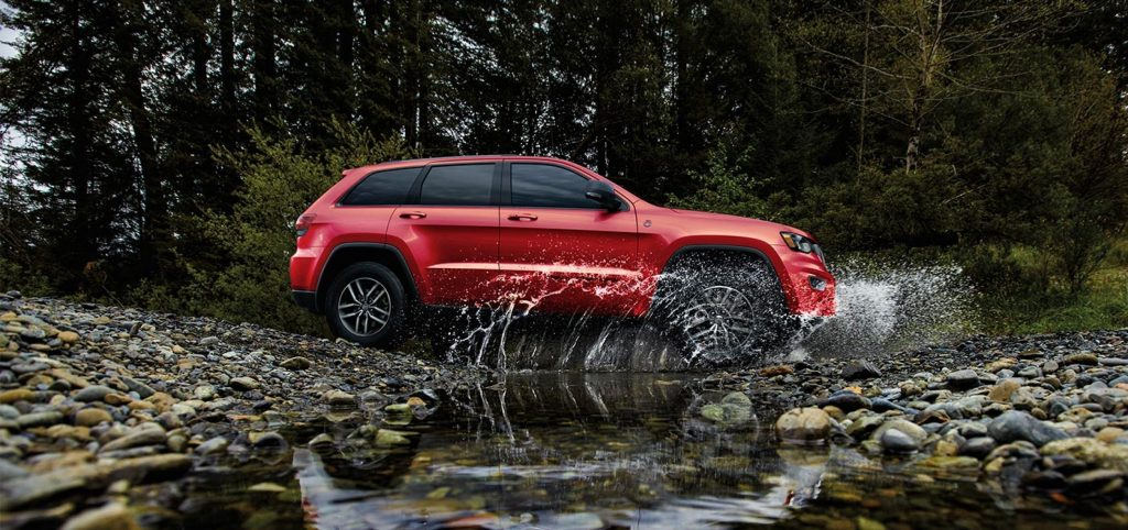 2021 Jeep Grand Cherokee Red Side Exterior