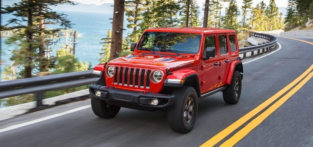 2021 Jeep Wrangler Front Red Exterior Picture